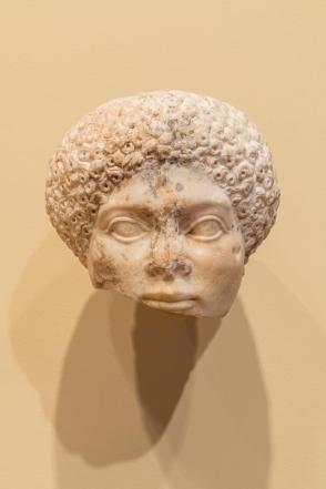 Head of an African