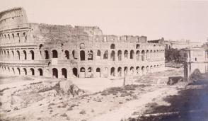 View of the Coliseum, Rome