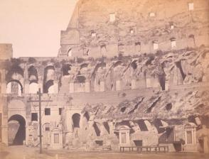 The Interior of the Coliseum and the Christian Shrines, Rome