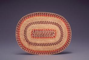 Basketry mat