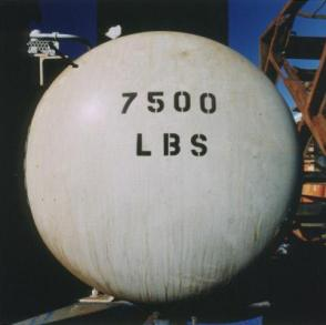 "Seventy-five Hundred Pounds, 25 February 1996 (From the ""Tanks"" series, 1989-present)"