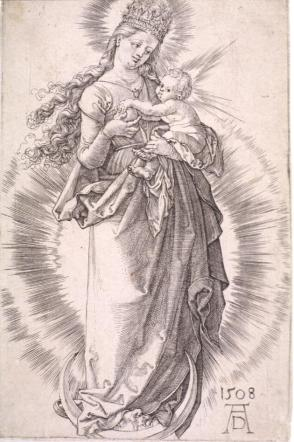 The Virgin on the Crescent with a Starry Crown