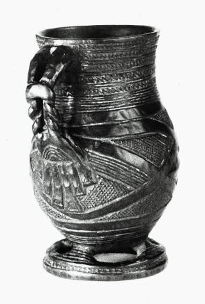 Cup with Handle and Base