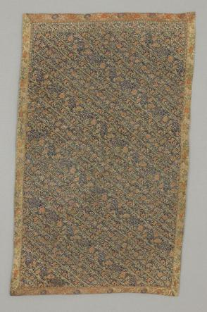 Fragment of woman's trousering, woven (soumak)