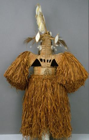 "Mask costume (Jipae) (of the rope type also called ""Elder Brother"")"