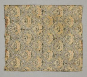 Fragment, floral ogival repeat