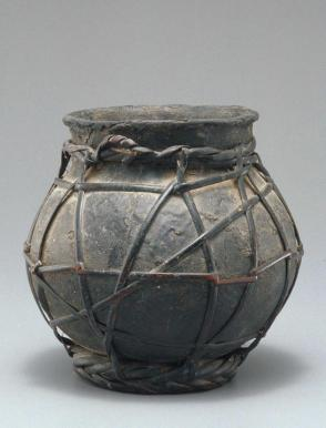 Jar with Wrapping