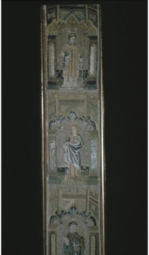 Fragment of Gothic stole in panel form