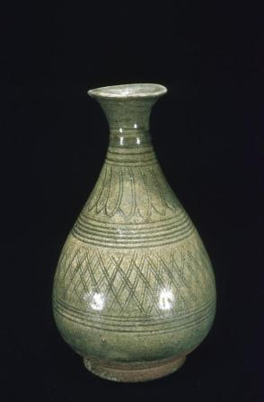 Vase with incised decoration