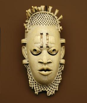 Belt mask of Iyoba (Mother of the Oba) Idia