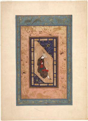 Portrait of a Safavid Prince