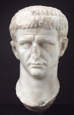 Posthumous portrait head of the Emperor Claudius