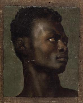 The Head of an African