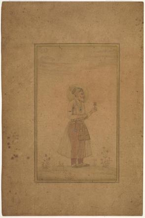 Portrait of Shah Jahan