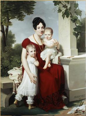 Mme. H and Her Children