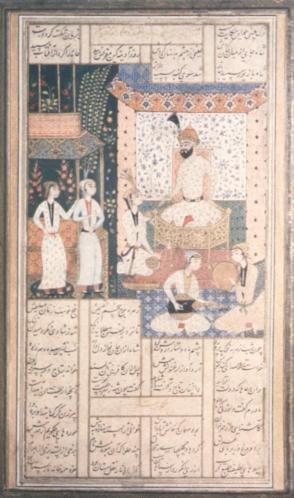 Bahram Gur in the White Pavilion