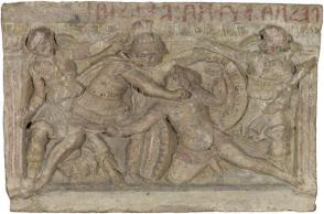 Relief from an Urn:  Eteokles and Polyneikes in Combat