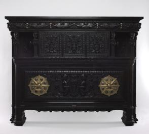 Cabinet for the drawing room, Arabella Worsham/John D. Rockefeller House, 4 West 54th Street, New York