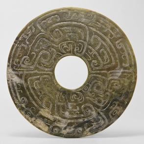 Disc with dragon motif
