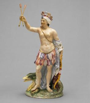 Allegorical figure of America