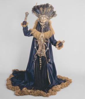 Basinjom mask and gown