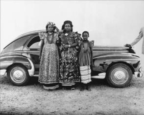 Bamako, Family with Car #266, 1951-1952
