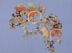 Tapestry Fragment, Animals