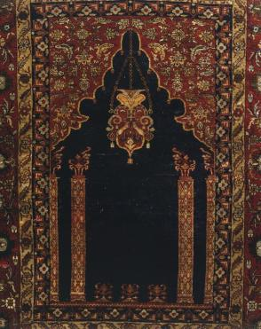 Tabriz prayer rug