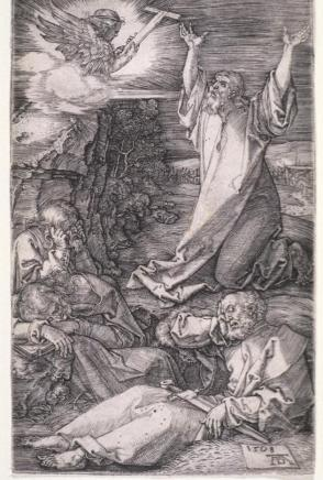 Agony in the Garden or Christ on the Mount of Olives