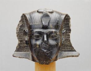 Head from a statue of Pharaoh Thutmosis III