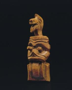 Sxwaixwe carving