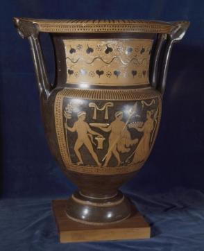 Red Figured Column Krater