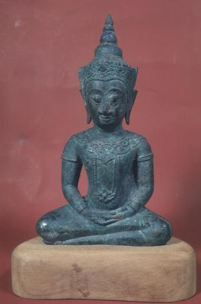 "Statuette - ""The Crowned Buddha"""