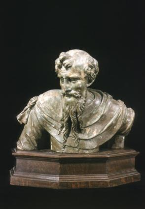 Bust of prophet or apostle