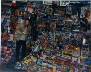 A Toy Seller, Off Jordon Road, Kowloon, Hong Kong