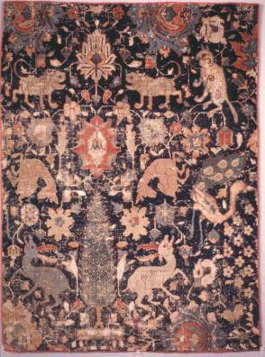 Fragment of a Garden carpet