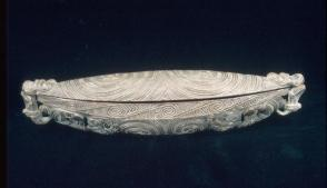Box for Preserving Feather Ornaments (waka huia)