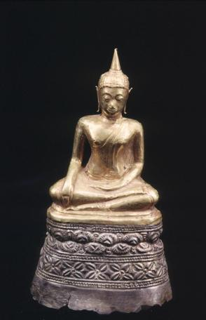 Statuette of Buddha, seated