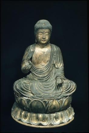 Seated Amida Buddha
