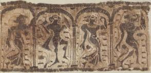 Fragment from a tunic, Bacchanalian scene