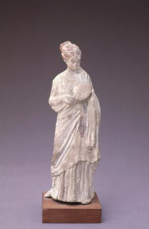 Standing Female Figure with Fan
