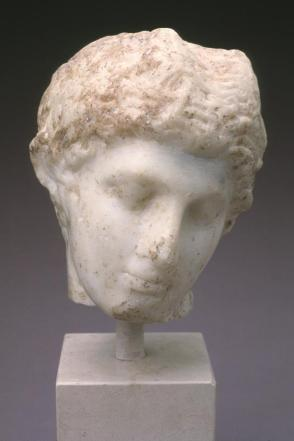 Head of Pan, Replica of Poylcleitan Paniscus (small Pan)