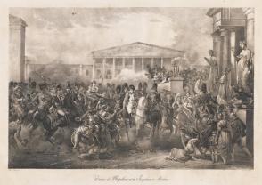 Entry of Napoleon & Josephine into Milan