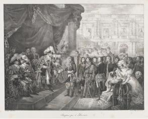 Reception by the Directoire
