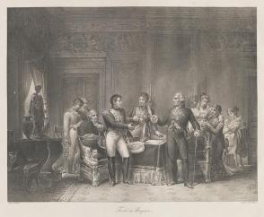 Signing Treaty of Bayonne
