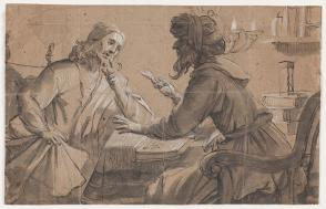 Christ and a Scribe